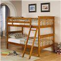 Coaster Bunks Twin Over Twin Bunk Bed - Coaster Fine Furniture