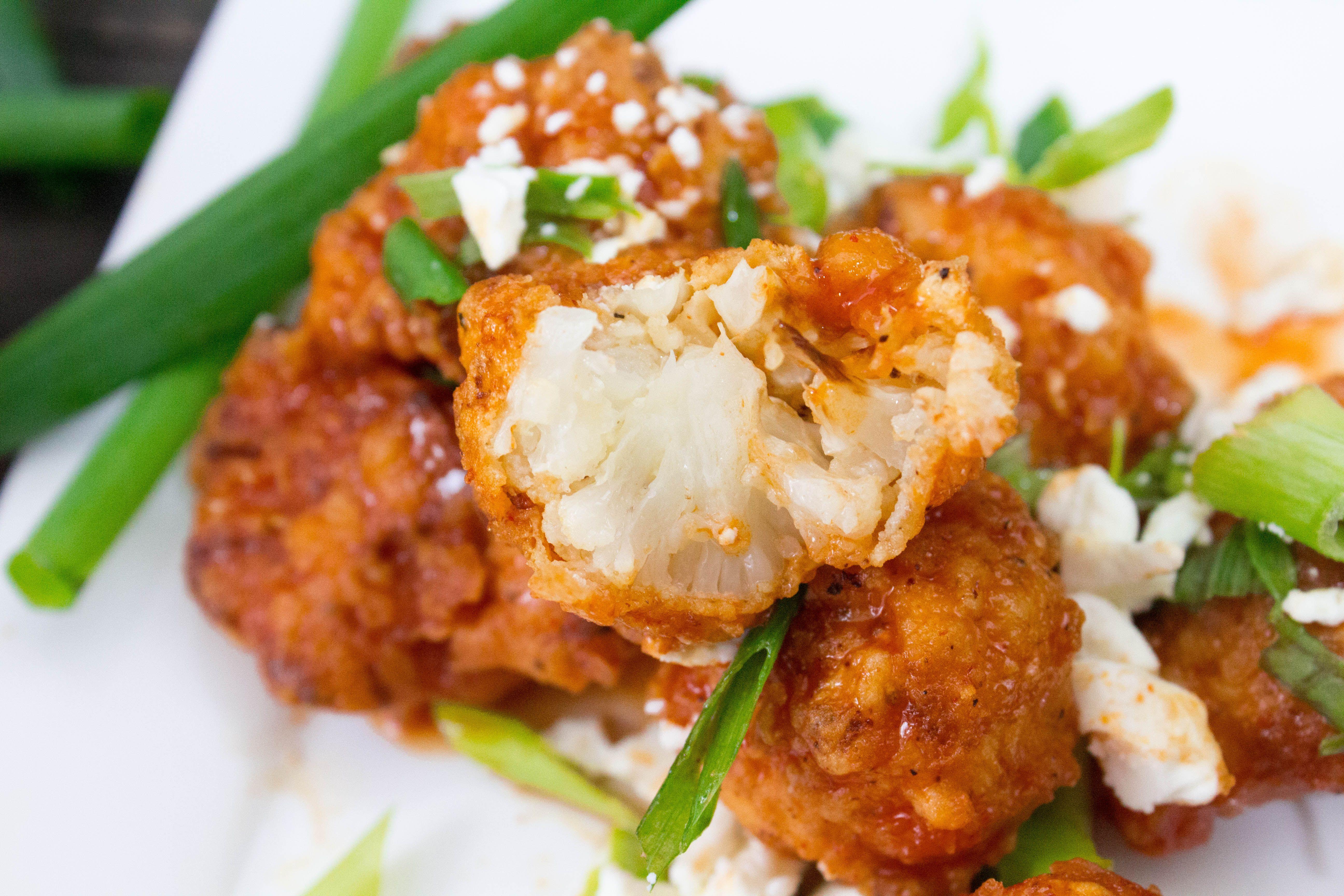 Buffalo Cauliflower Bites Recipe (CPK Inspired) | Recipe ...