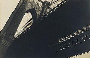 Brooklyn Bridge by Walker Evans, 1928–29   #photographer JournaltoHealth.com/blog/