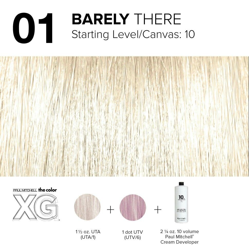 Color Xg Formula Created By Paul Mitchell Paul Mitchell Color