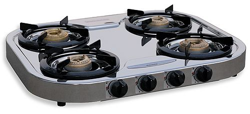 Attractive Portable Stove Top | Hurricane Products Stove PortableStainless Steel Stove,  90 6114