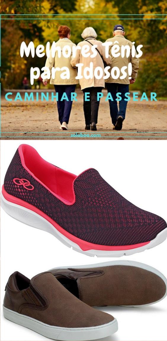 33585d92197 Características e qualidades dos melhores tênis e calçados para pessoas  idosas caminharem em segurança com conforto