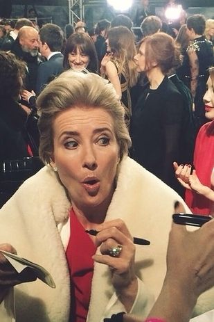 Emma Thompson Was The Best Thing About The BAFTAs