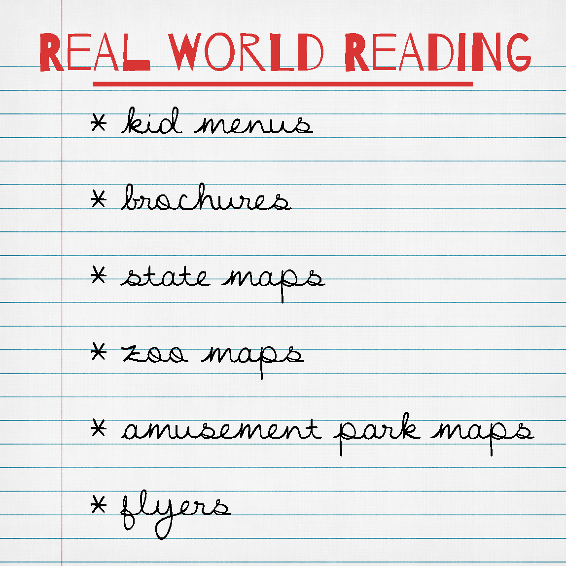 Real World Reading Materials Added To Classroom Library