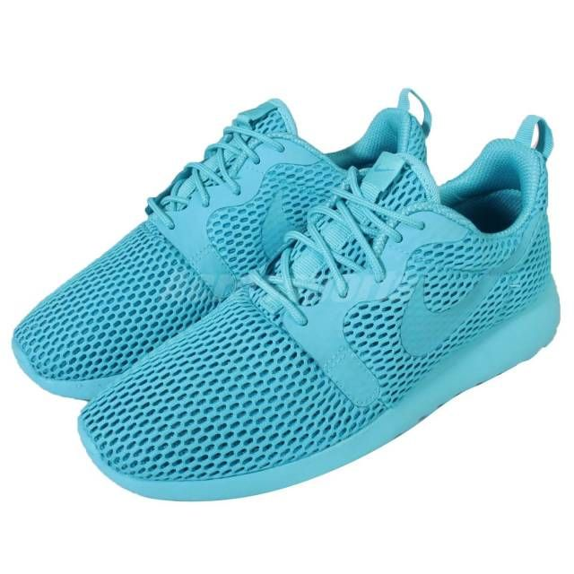 sports shoes b932b 7fe71 Wmns Nike Roshe One HYP BR Hyperfuse Breeze Blue Rosherun ...