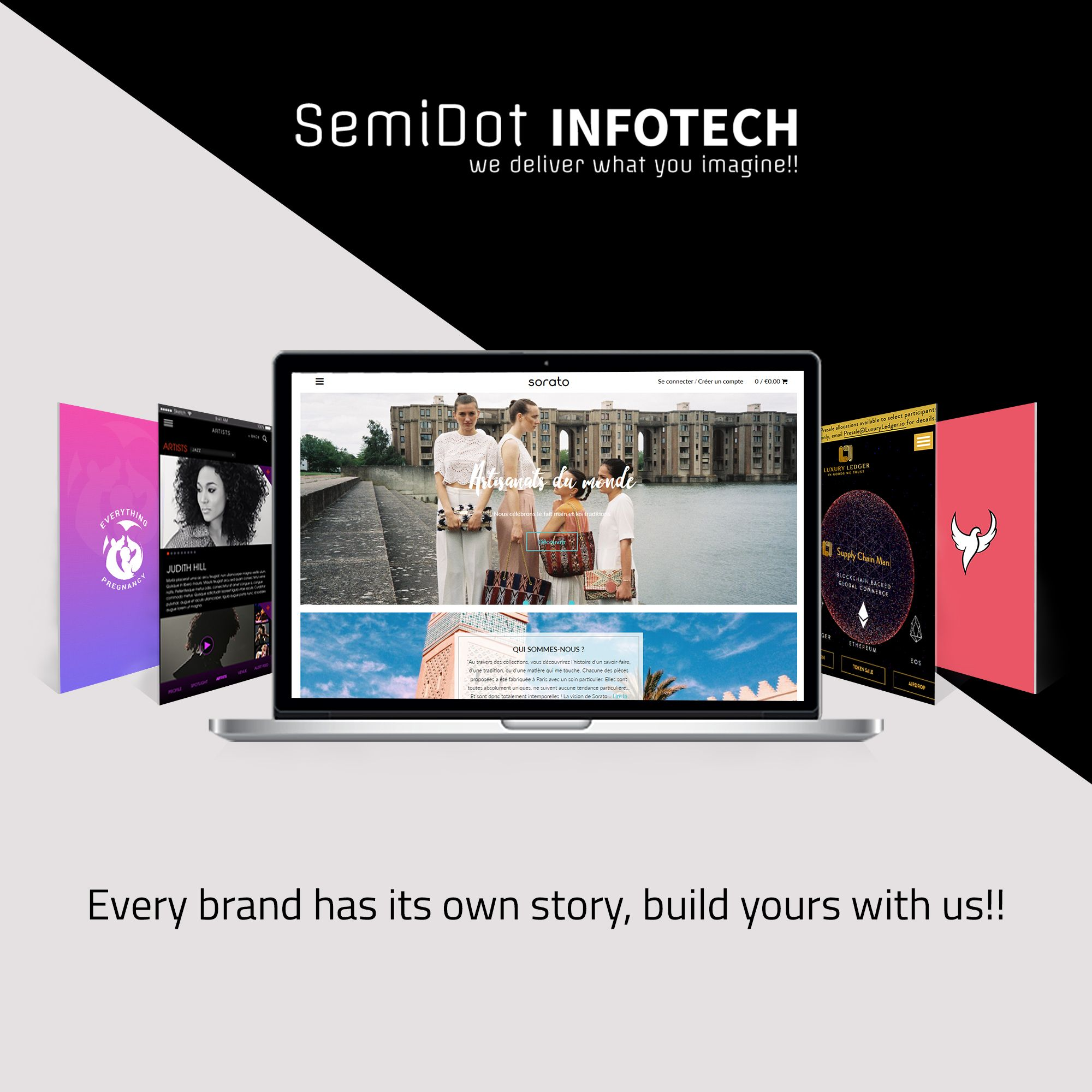 Every brand needs its own authentic story, build yours