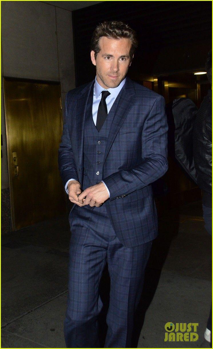 Ryan Reynolds Reveals Hugo Boss Bottled Sport! 3 Piece Suits, Three Piece  Suit, dbbdd8bbac