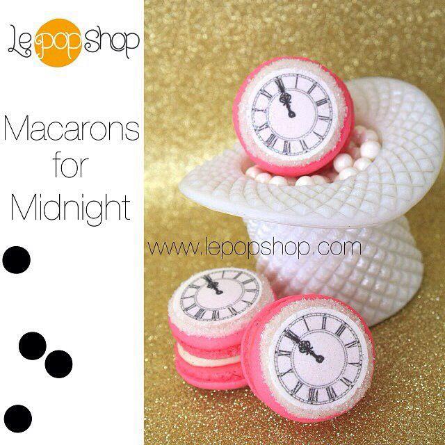 Macarons de minuit.