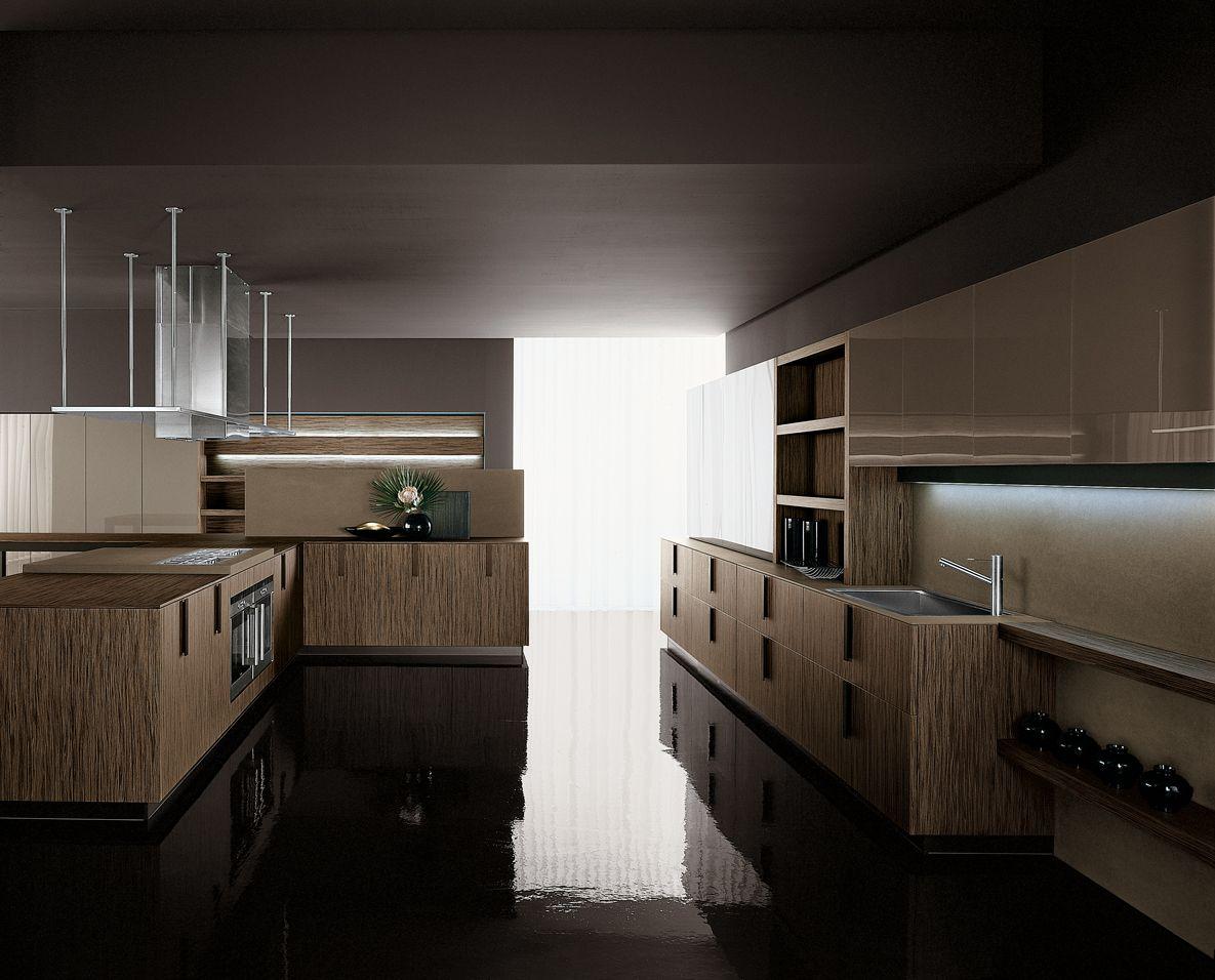 Kitchen With Alpi Wood Wenge