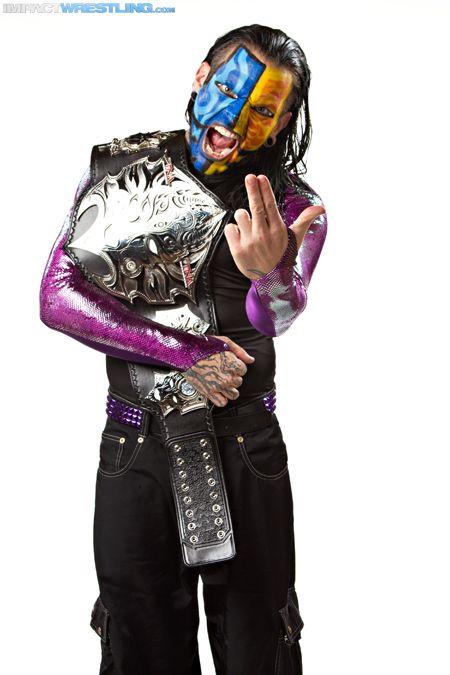 TNA World Heavyweight Champion (2010 - 2011,2012 - 2013 ... Jeff Hardy 2013 Face Paint