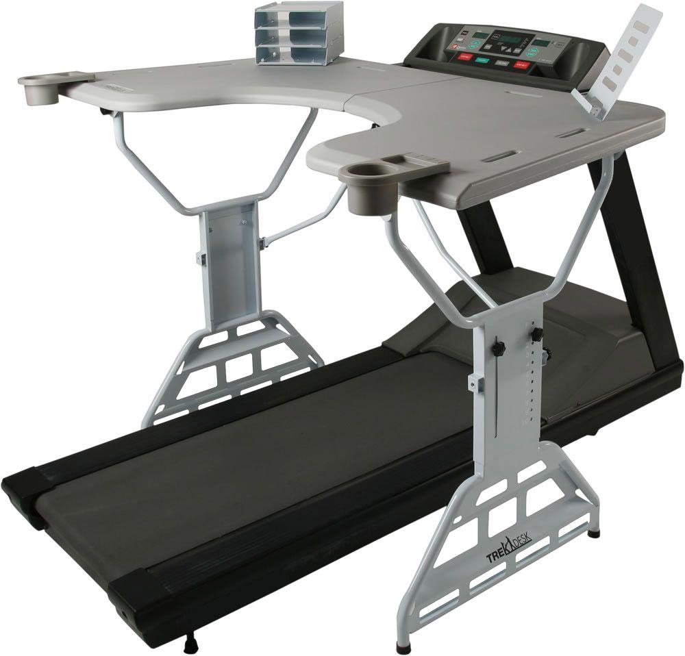 Treadmill Desk Fitbit: Trek Desk Treadmill Desk, Byo Treadmill // $479