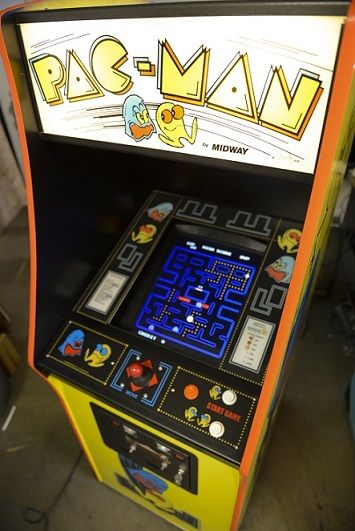Vintage Pac-Man Video Arcade Game for Rent