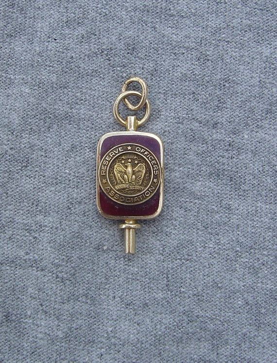 1935 10k Gold Enameled US Army Reserve Officers Association HAWAII Watch  Fob Engraved IDu0027d On Etsy, $135.00 | Jurgen Viktor On Etsy | Pinterest |  Army ...