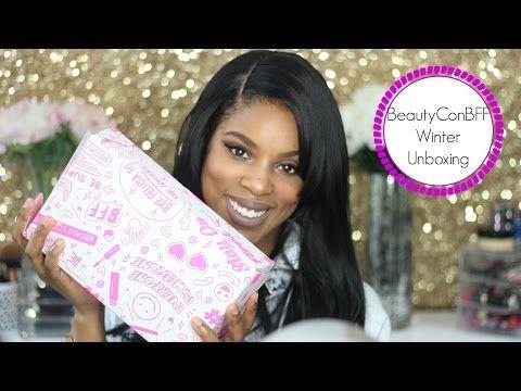 BeautyCon BFF Winter Unboxing - YouTube