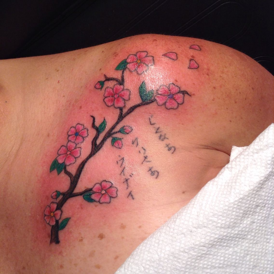 After touch up tattoos touch up watercolor tattoo