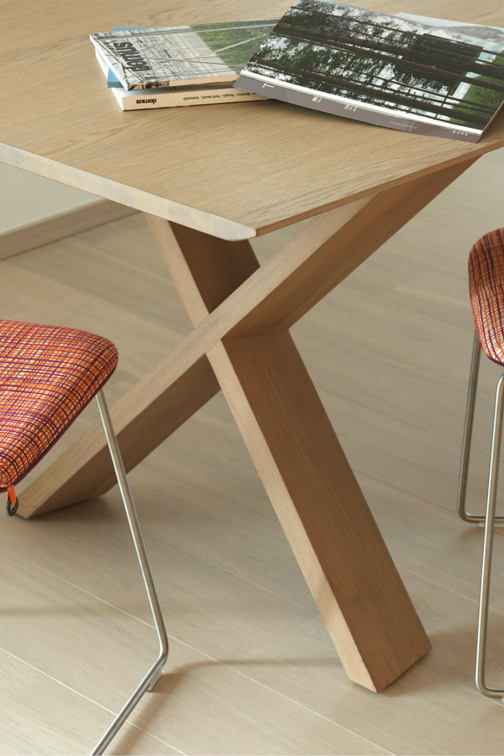 This X Cross Table Is Part Of The Lancaster Series By Mobitec  # Muebles Toulouse