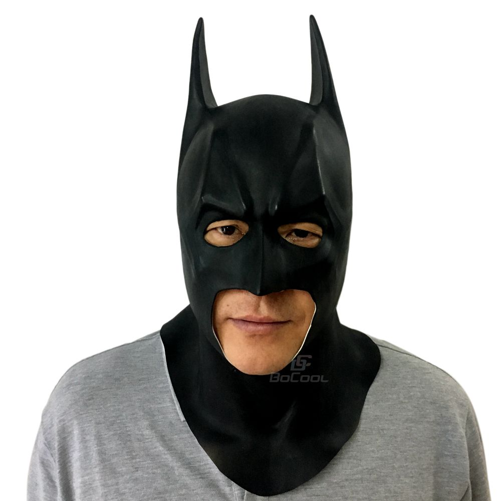 Halloween Mask Cosplay Batman Masks Adult Full Face Caretas Movie ...