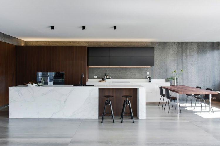 Kitchen Kitchen Island Marble Top Modern Marble Kitchen Prepossessing Marble Kitchen Designs Design Decoration