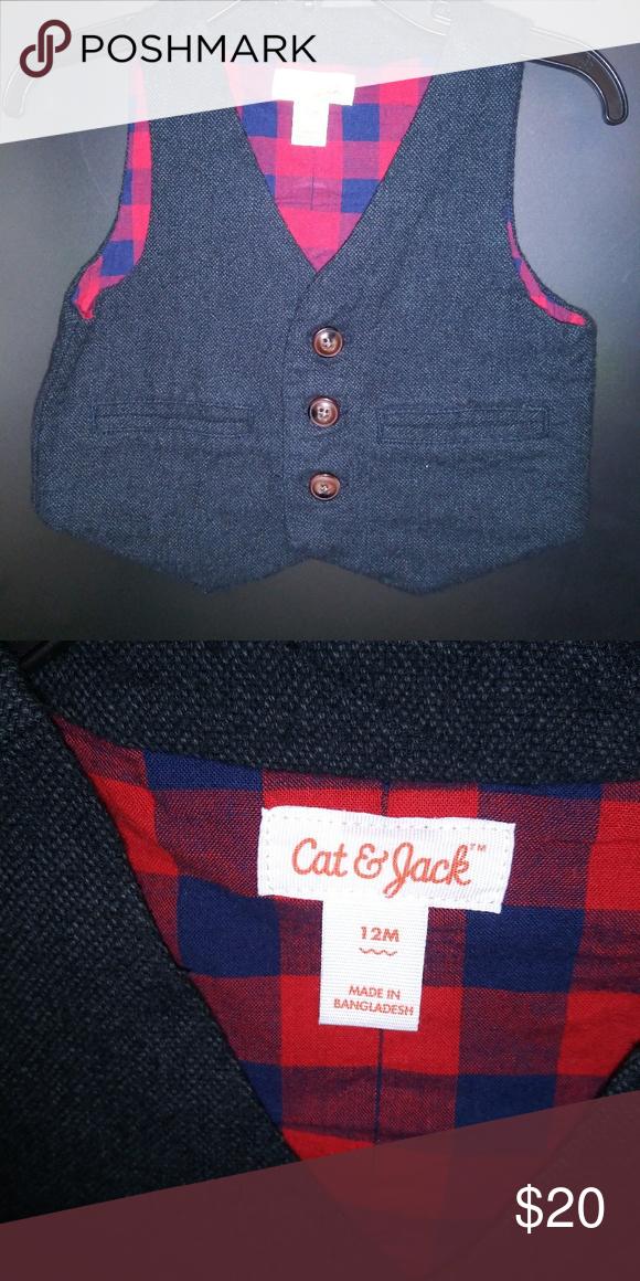 Cat & Jack Baby vest 12months