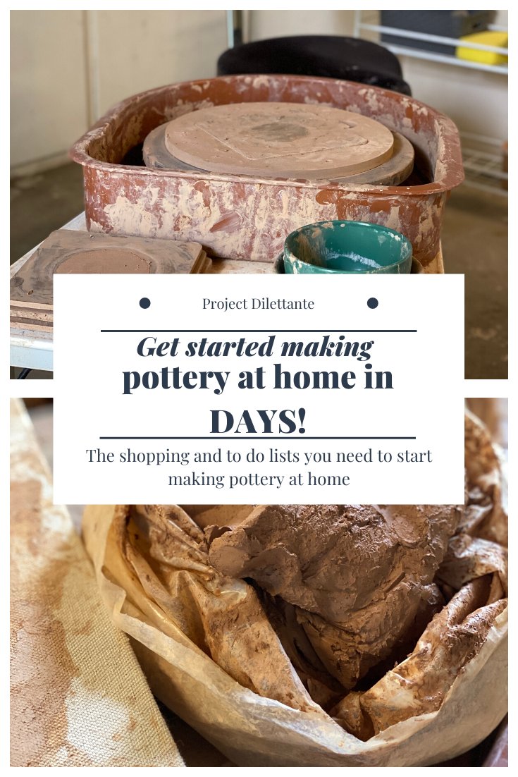 How to start making pottery at home! | Diy pottery ...