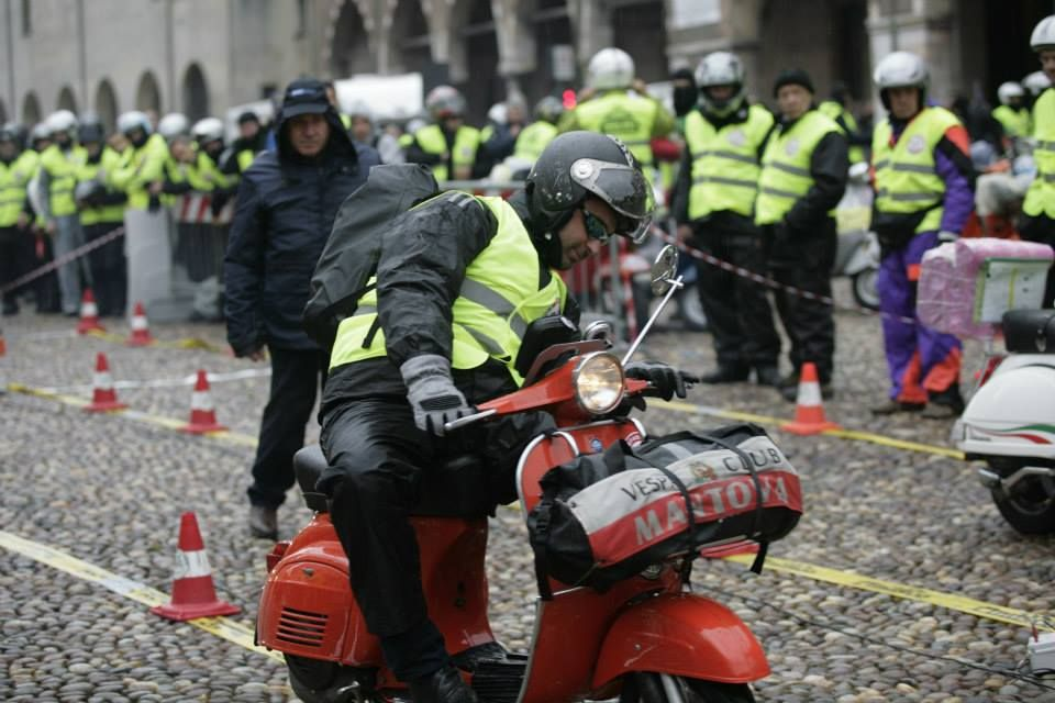 1000 KM VESPISTICA - #Vespa #scooter #Club #travel #passion