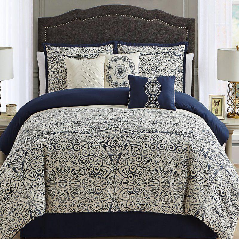 Laylah Reversible Comforter Set Luxurious Bedrooms Comfortable Bedroom Bedroom Sets