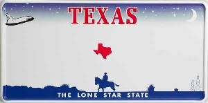 Texas License Plate Blank   Cooler than most   Formal cooler ideas