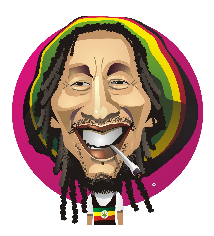 Bob Marley Cartoon By Fernando Verissimo