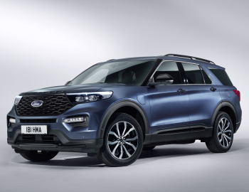 Ford Explorer Plug In Hybrid St Line Worldwide 2019 Ford
