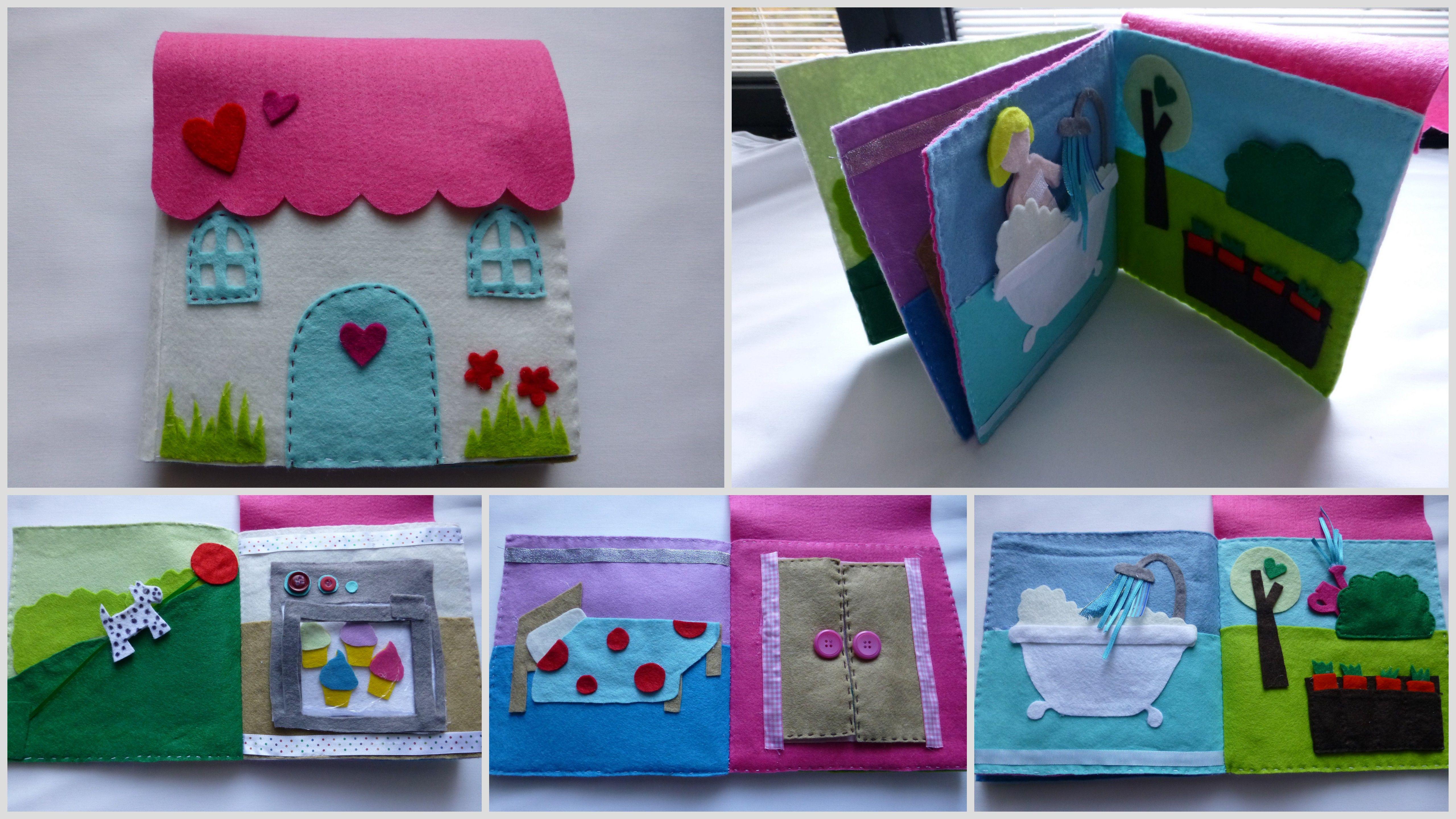 Orla\u0027s doll house/quiet book