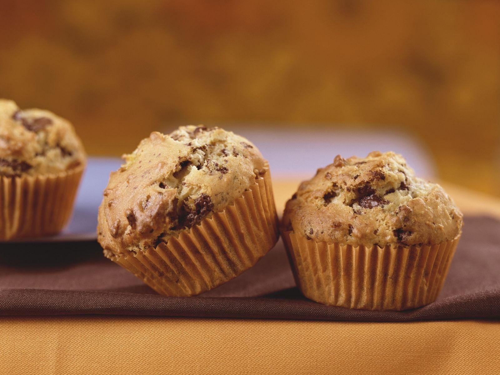 Muffins Mit Schokostuckchen Rezept Mit Bildern Muffins Mit Schokostuckchen Schokostuckchen Dessert Ideen