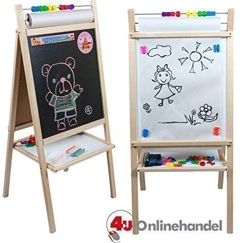 Standkindertafel zum Hammerpreis 98x45cm Papierrolle Abakus - magnettafel f r die k che