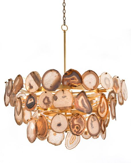 agate sliced 15 light chandelier chandeliers and agates