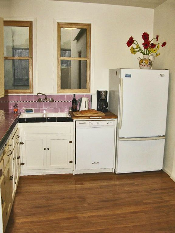 Light And Bright Updated Kitchen Original Restored 48s Tile Enchanting Updated Kitchen Ideas
