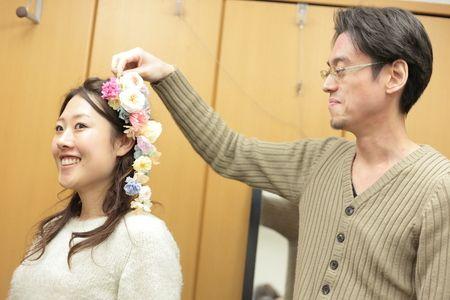 一会単発スクール 手作りのブーケ、手作りの花 1月18日ご報告 : 一会 ウエディングの花