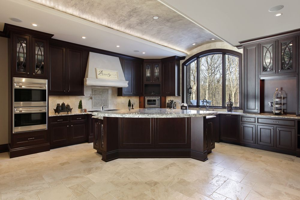 124 pure luxury kitchen designs (part 2) | dark kitchen cabinets