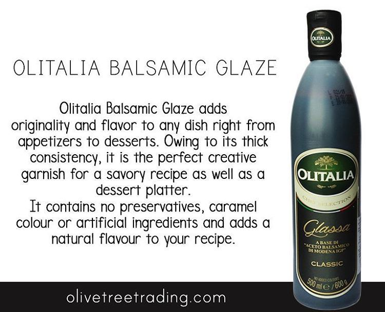 Balsamic Glaze Olivetreetrading Com With Images Traditional