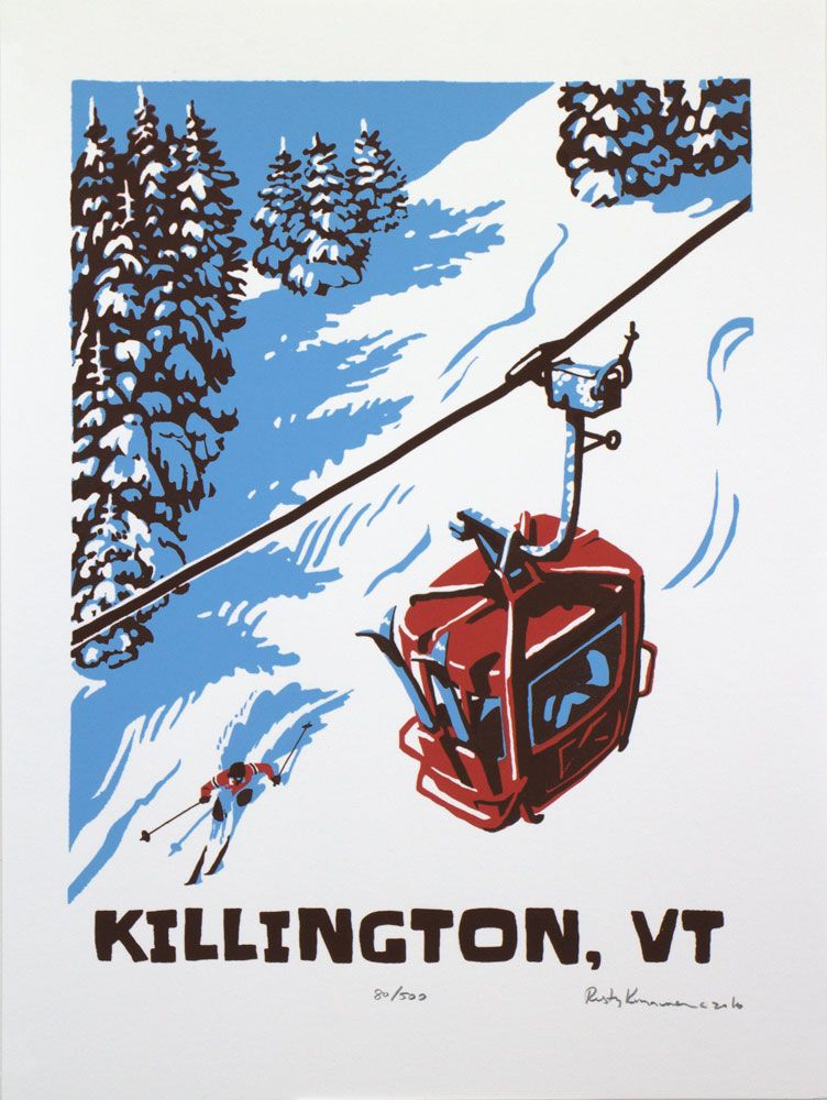 ski posters vintage ski