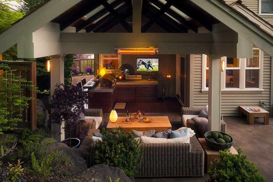 Beautiful A Framed Gazebo Landscape Design, Portland Oregon | Exterior Design |  Paradise Restored