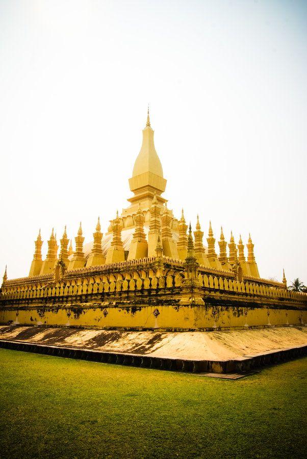 Vientiane Temple - Laos.