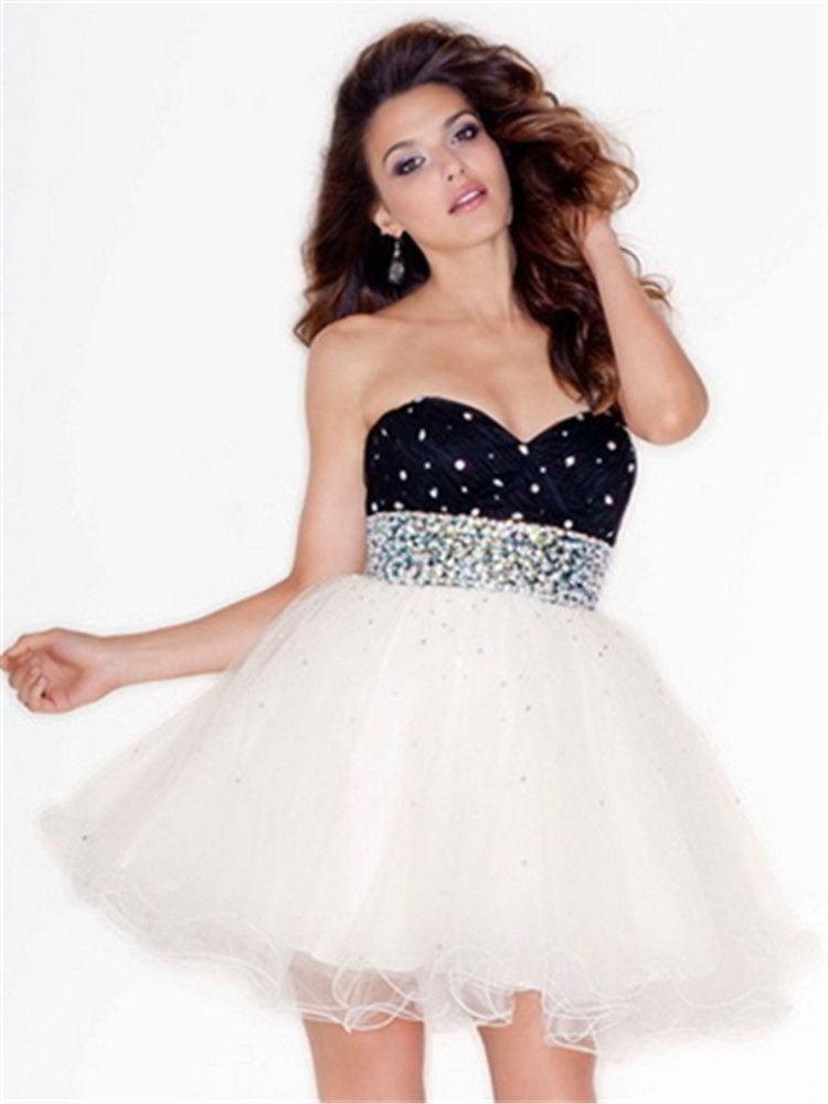 Sweetheart Graduation Semi Formal Party 8th Grade Prom Dresses 2015