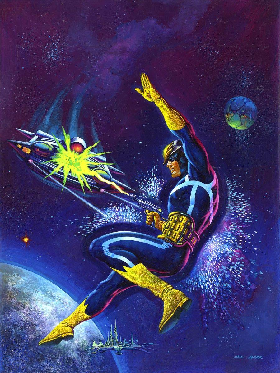 Ken Barr Marvel Preview 11 Cover Comic Art