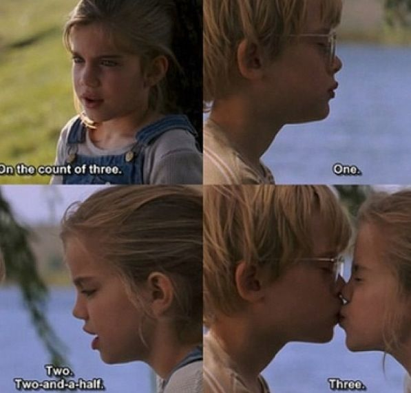 my girl first kiss
