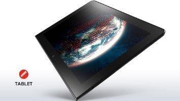 Lenovo Thinkpad 10, Black, 10.1in Wuxga Multitouch With Digitizer, Intel Z3795 Quad Cor