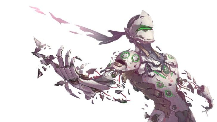 Genji Overwatch Wallpaper โปรเจกต์น่าลอง Pinterest