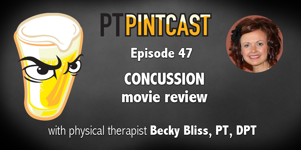 PTs review Concussion movie.