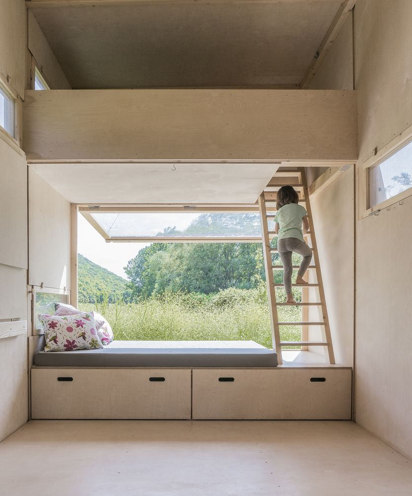 Dachbodenausbau Ideen Gallery Of Cabin On The Border So Architecture Ideas 5