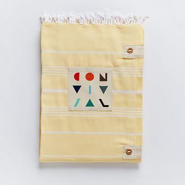 Convivial Link Outdoor Blanket #westelm