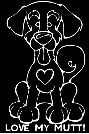 Every dog has its decal car window decals from decal dogs and angry squirrel studio are what you need to celebrate your best friend