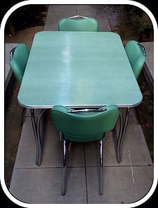 Retro Vintage Formica Table And Chairs Vintage Kitchen Table Retro Kitchen Tables Retro Dining Rooms